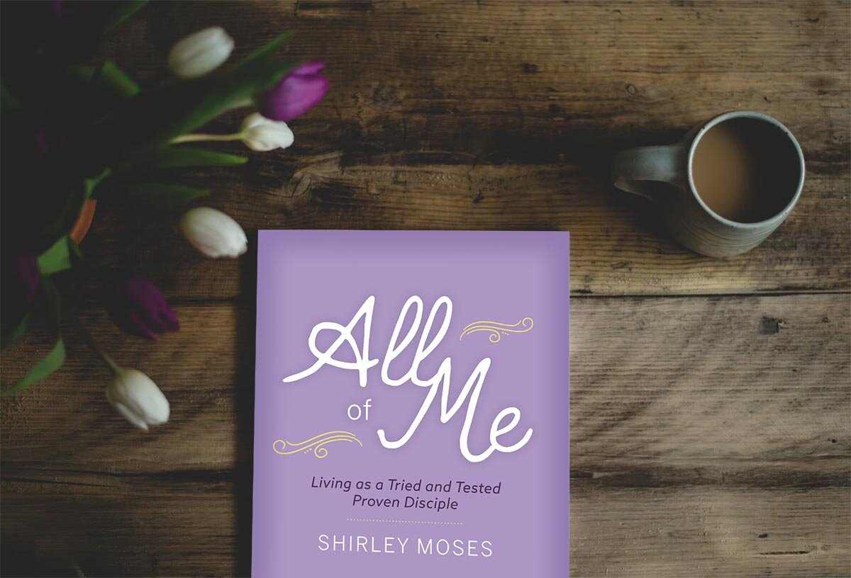 new book - All of Me explores characteristics and behaviors that develop once a Christian begins yielding control to Christ.