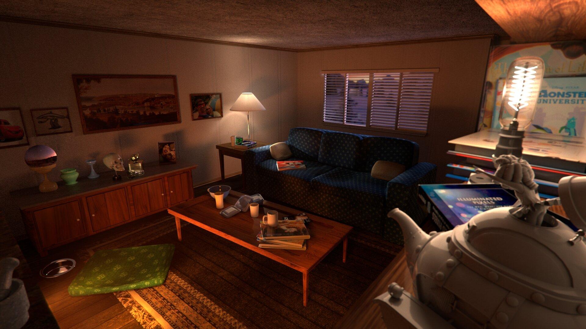 Living Room Lighting Study