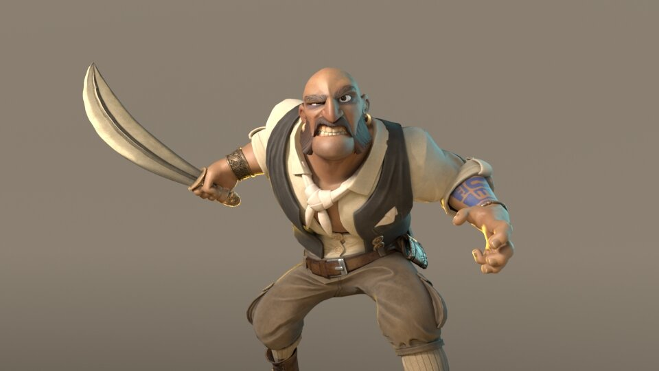 Pirate Character Study