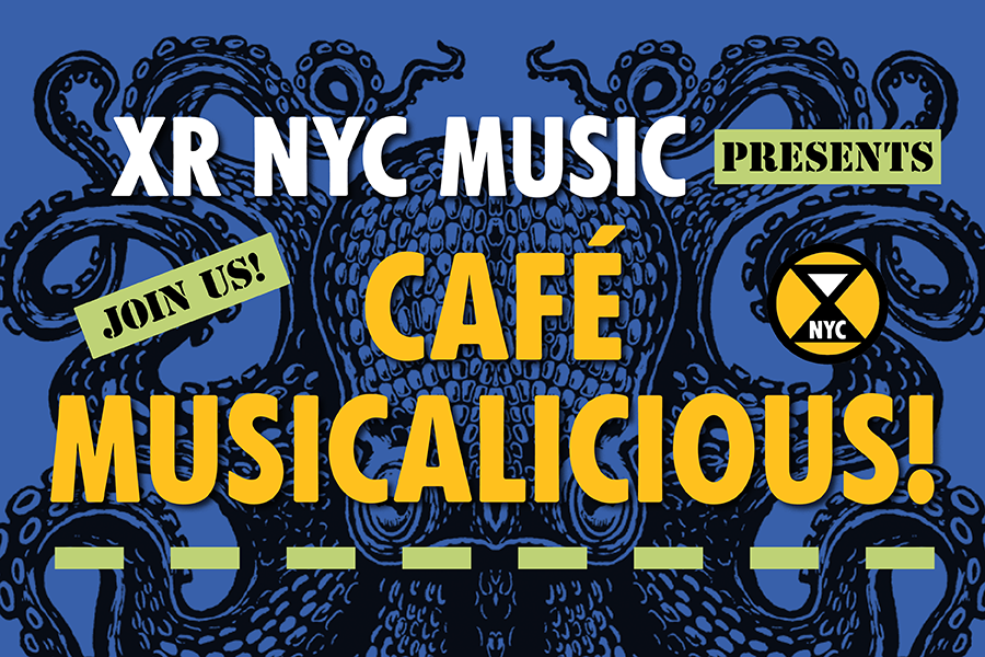 The Fantabulous Opening Ceremony of Extinction Rebellion's Café Musicalicious (Virtual)