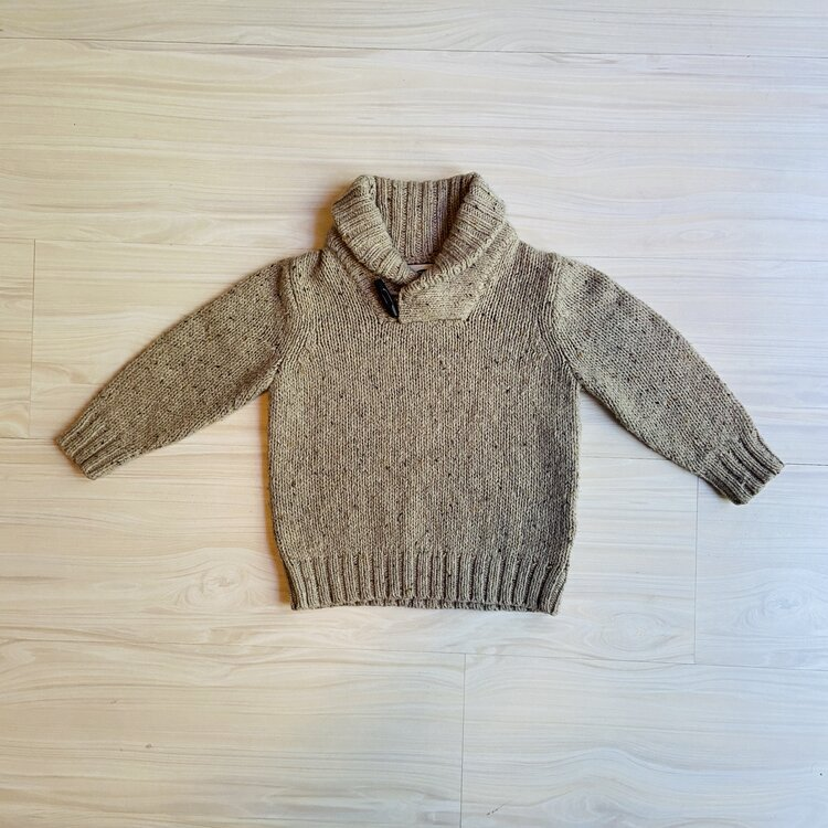 6 9 12 18 M JANIE /& JACK Navy Blue striped sweater knit Shortall Romper NWT