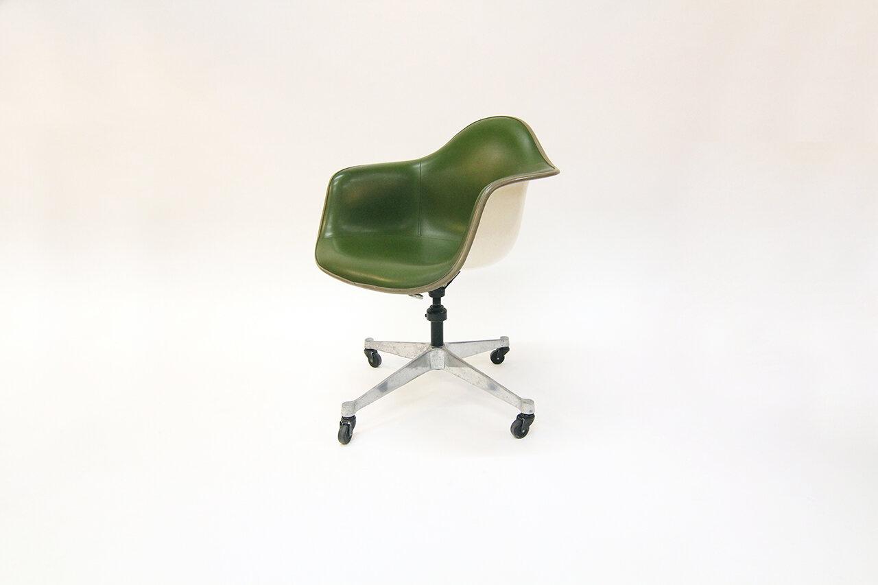 Image of: Herman Miller Swivel Chair Populuxe Mid Century Modern Furniture Kansas City