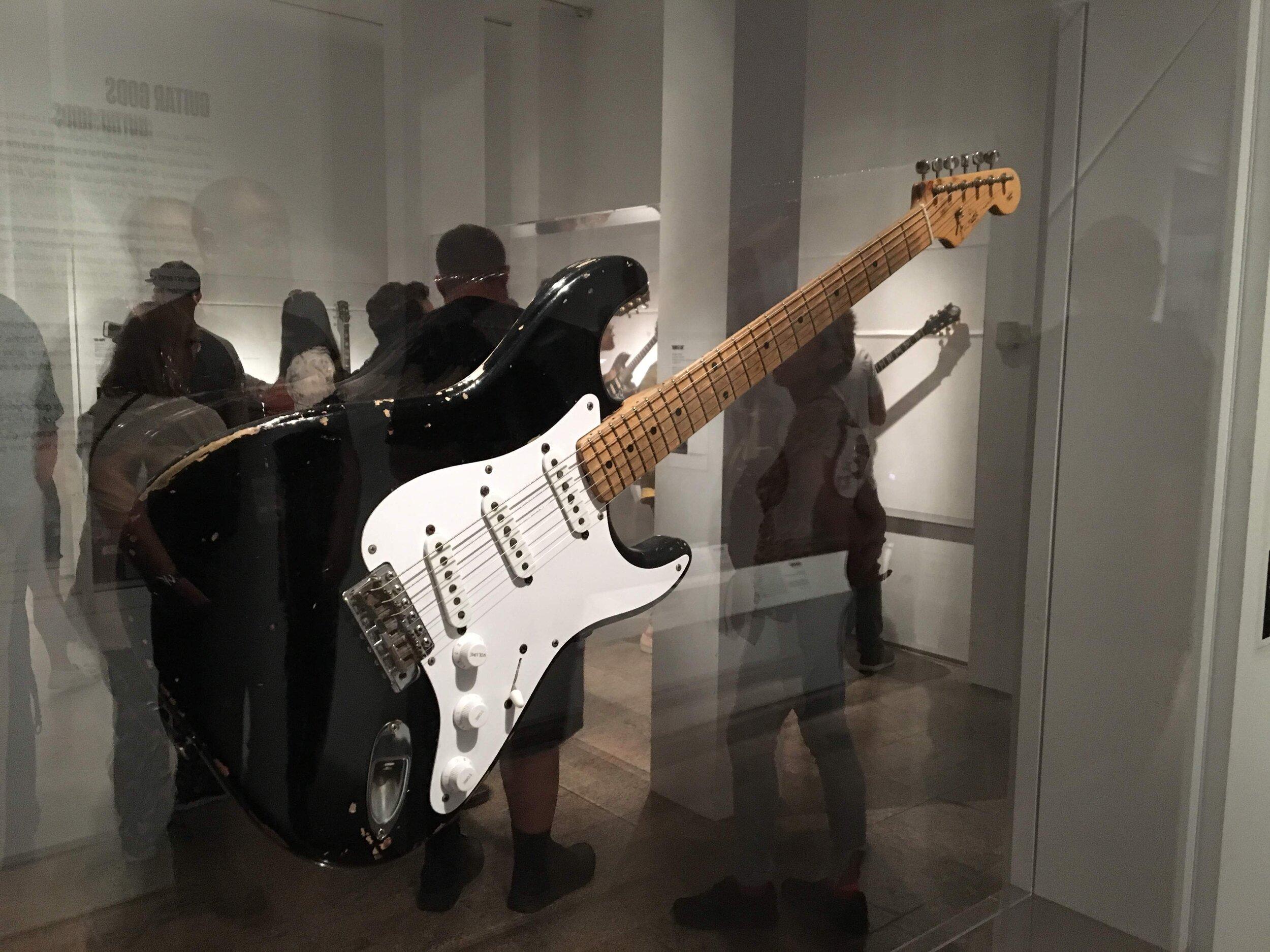 Eric Clapton Stratocaster Blackie Robert Fronjian