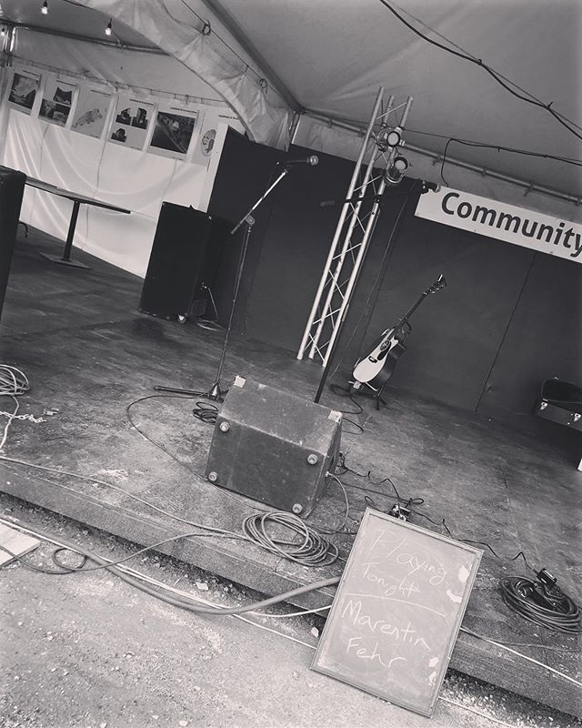 A year ago today I played this same stage I'm about to walk back on to. If you scroll all the way back on my Instagram, the first post is of me, here, on this stage. Since that day, I've released an EP, been nominated for 2 Indigenous awards, won competitions, played so many shows, and met so many amazing musicians and rad people. It's been such a ride so far, and I'm looking forward to everything this next year has to offer. I couldn't have asked for a better first year in the music scene. Thanks everyone.  @shakespearesask