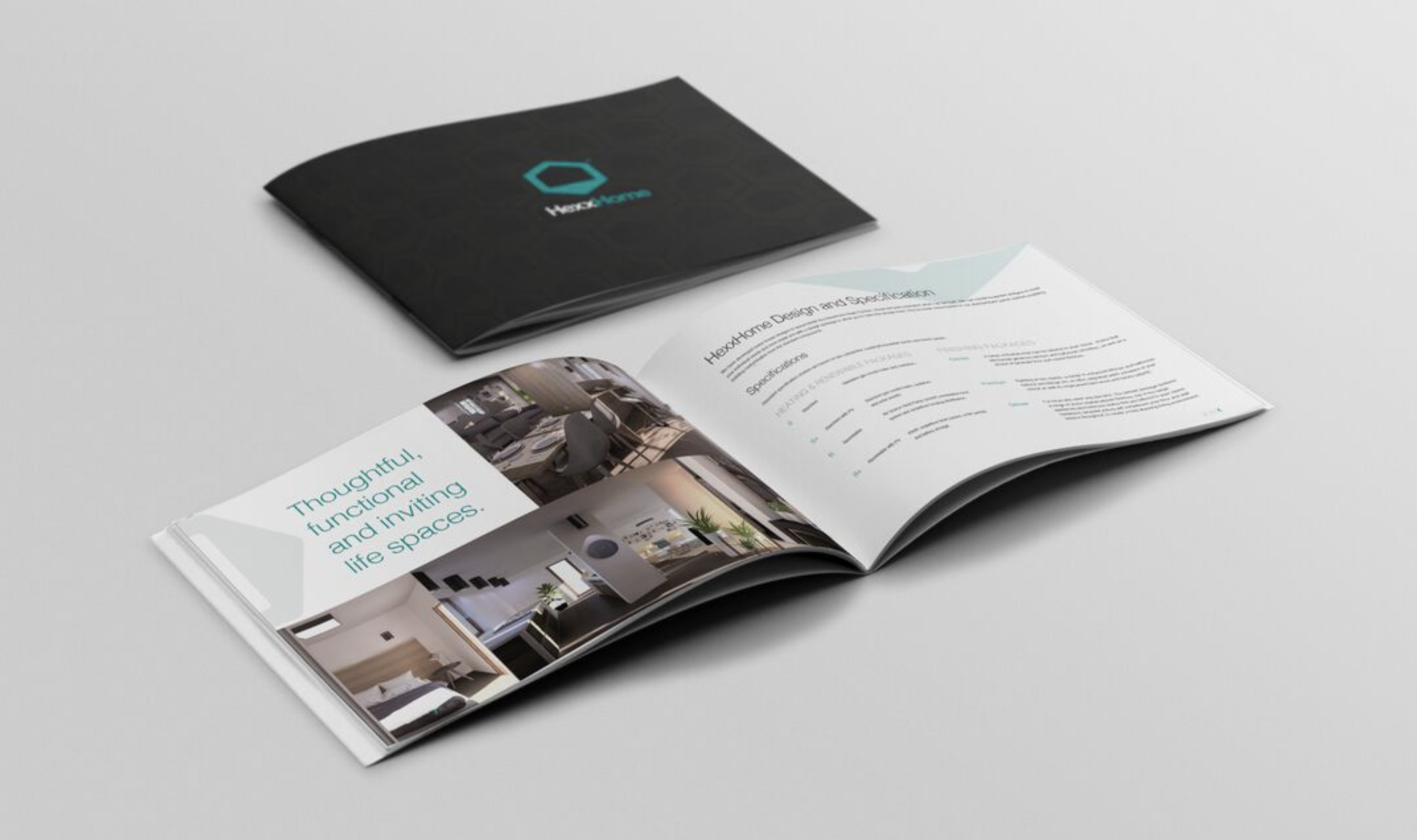 Instilling Credibility & Trust - As a subsidiary of The Garenne Group, the largest construction group in The Channel Islands, we mirrored the same colour scheme to bring credibility and recognition to the new start-up brand. Working closely, we developed a brand that was warm and approachable, complimented with a clean and bold identity.