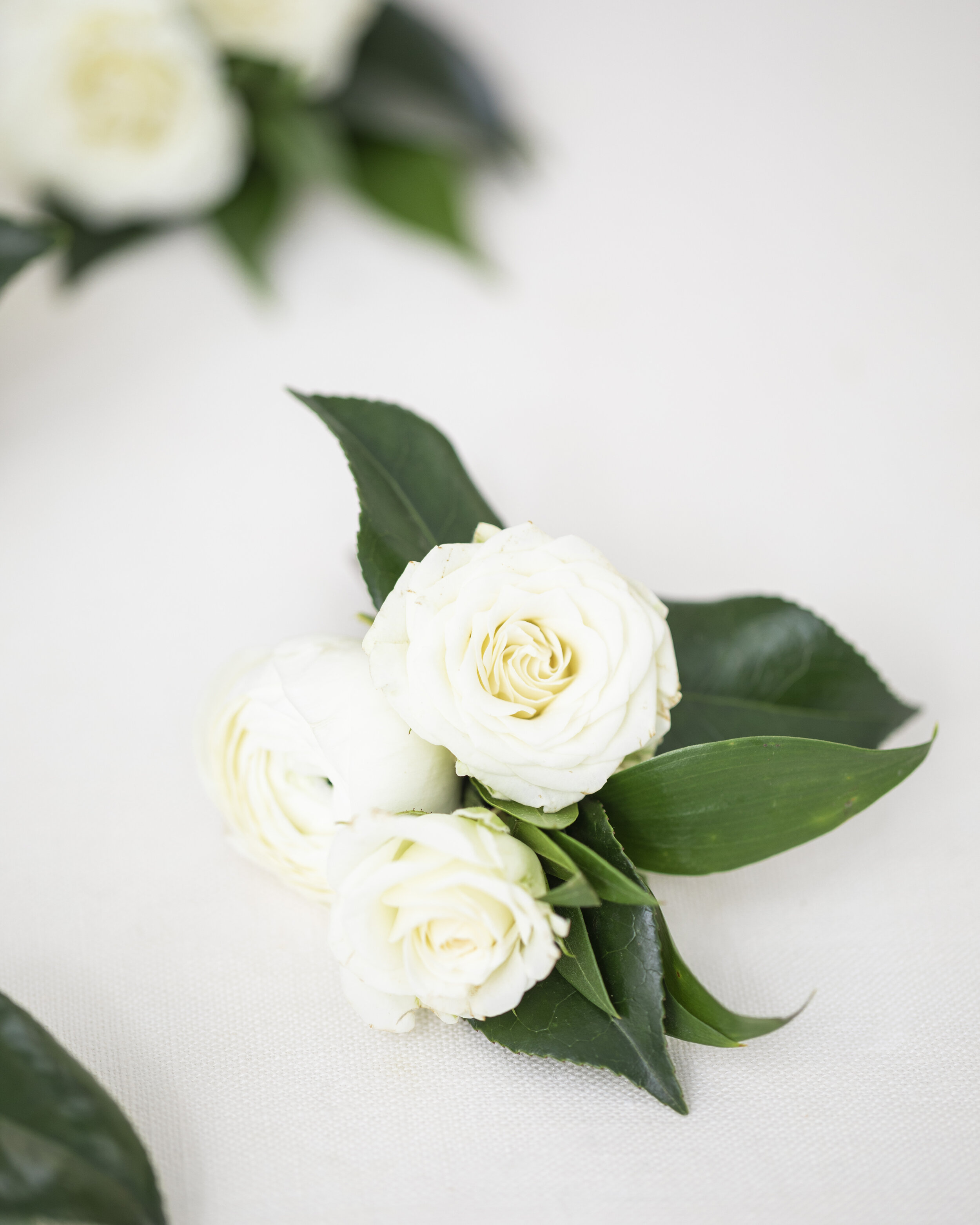 three white roses boutonniere boutonniere inspiration simple unique white wedding floral advise for the utah bride utah provo professional florist boutonniere pose inspiration bright and airy photography tips and tricks provo based #utahflorist #weddingplanning #claritylane #weddingbouquetinspiration #weddingflorals #softbrightlighting #provoutahflorist #provoutah #weddinginspo #provoweddingphotorapher