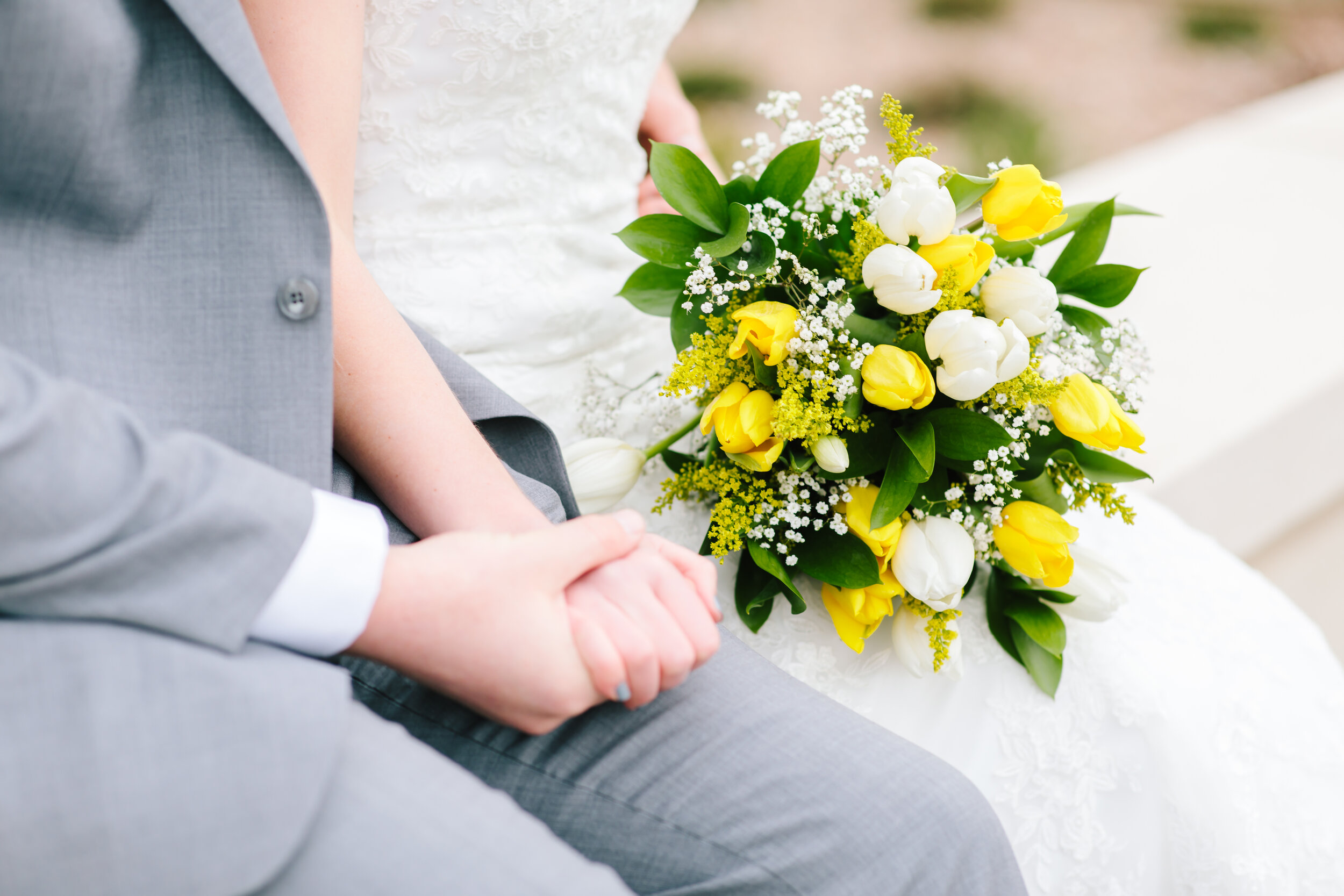 spring wedding day color inspiration happy colors unique flowers great looking grey suit lace short sleeved wedding dress inspiration wedding day goals utah couple utah professional photographer lds wedding lds couple payson temple session works for spring or summer #eternalbuddies #weddingsession #weddinginspo #ldswedding #ldsbride #couplegoals #paysontemple #temple #profressionalphotographer #utah #love
