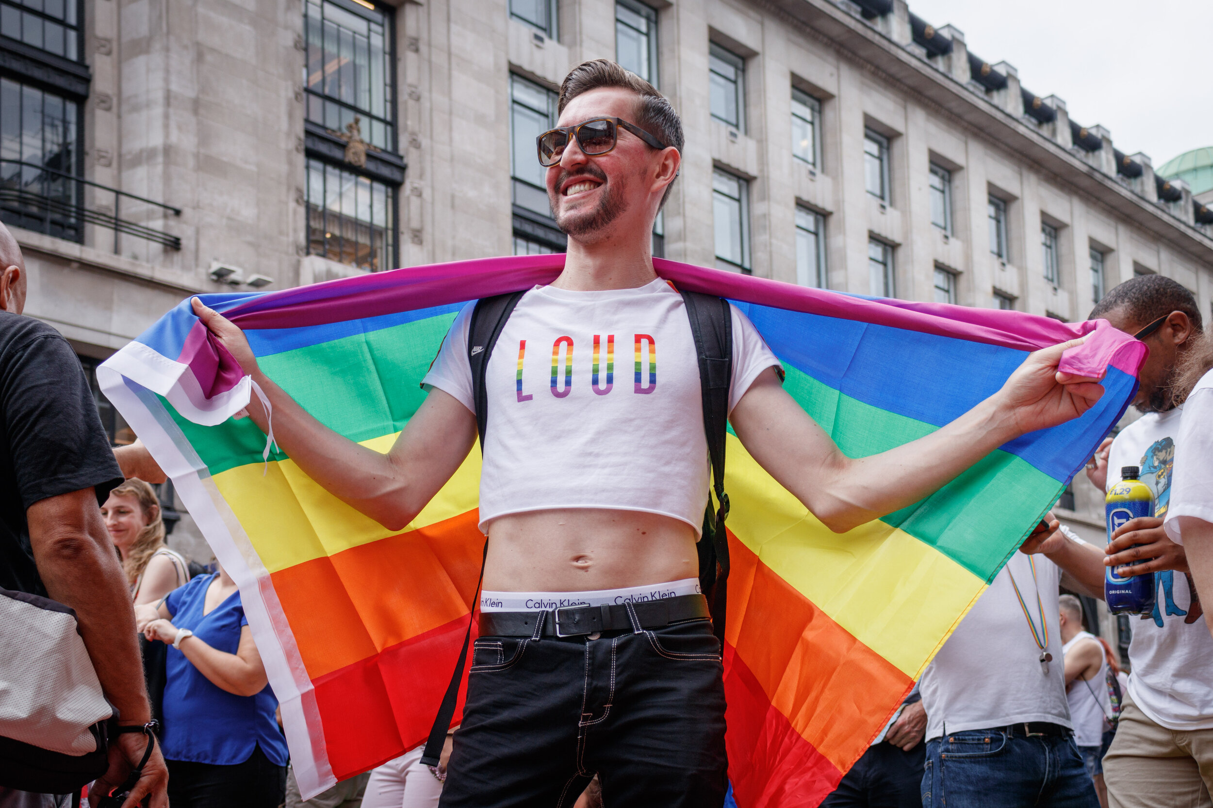 Loud and Proud Pride Parade London Belinda Jiao