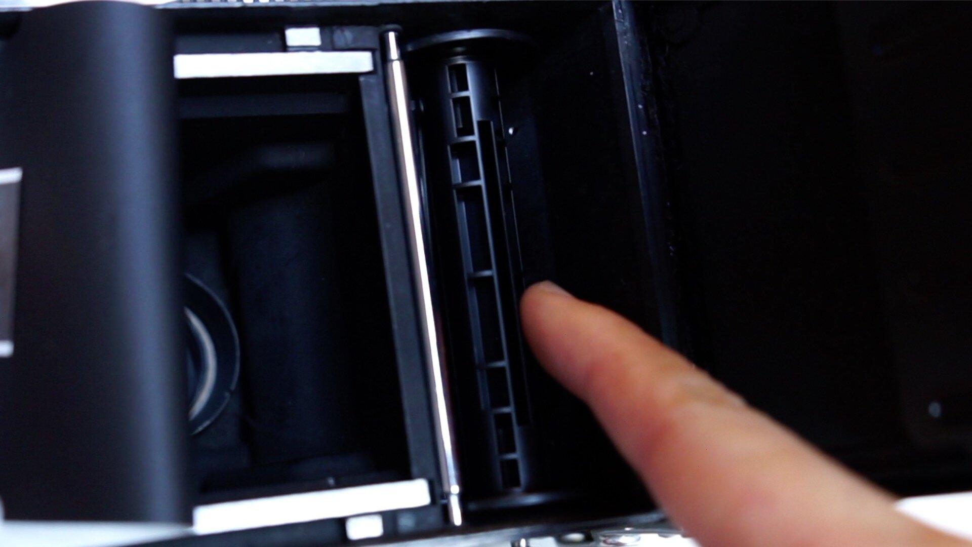 empty 120 film spool