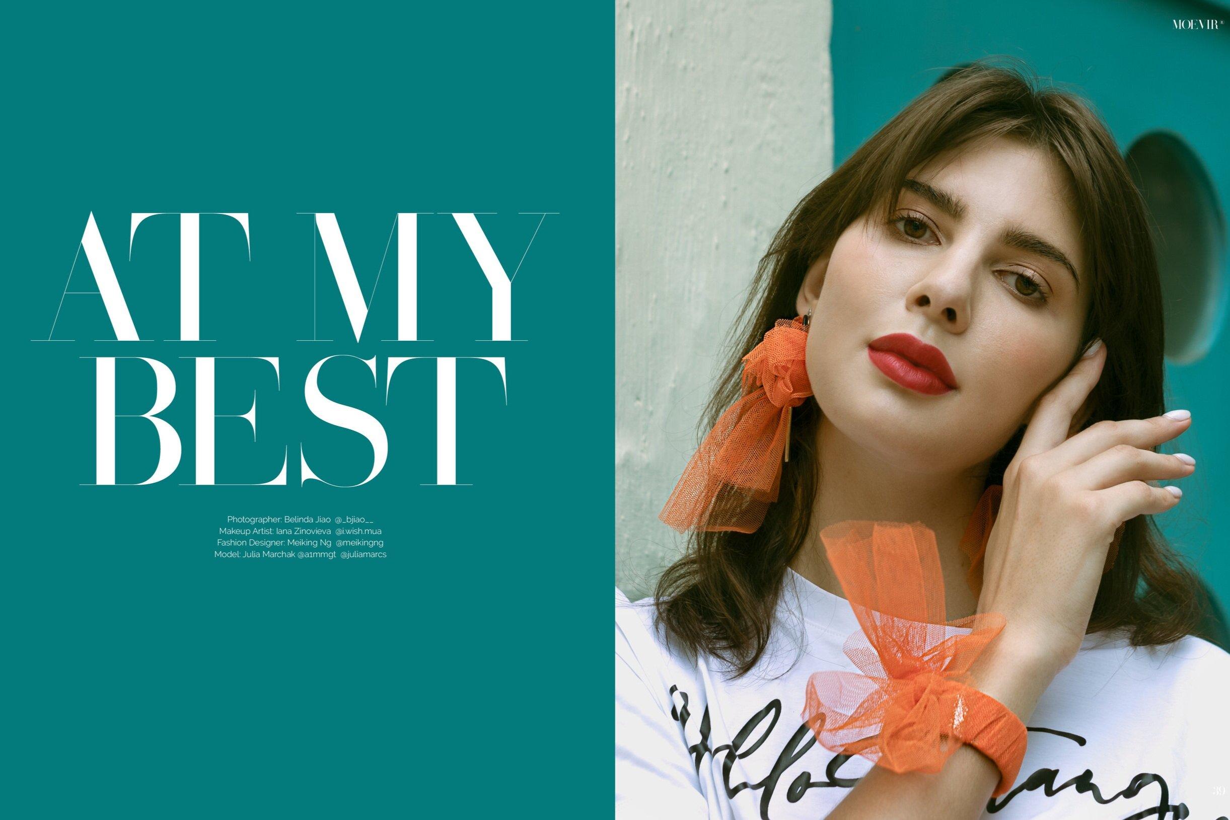 Moevir Paris Magazine/ Fashion