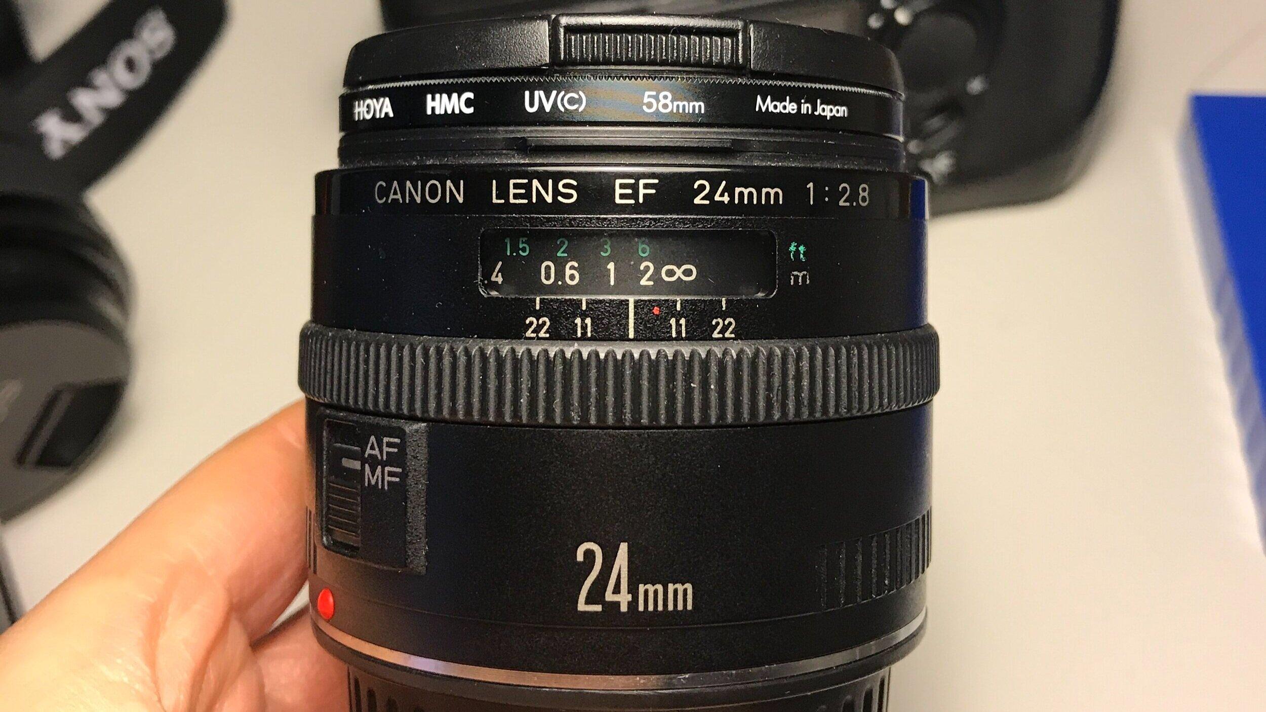 hyperfocal distance street photography 24mm prime lens
