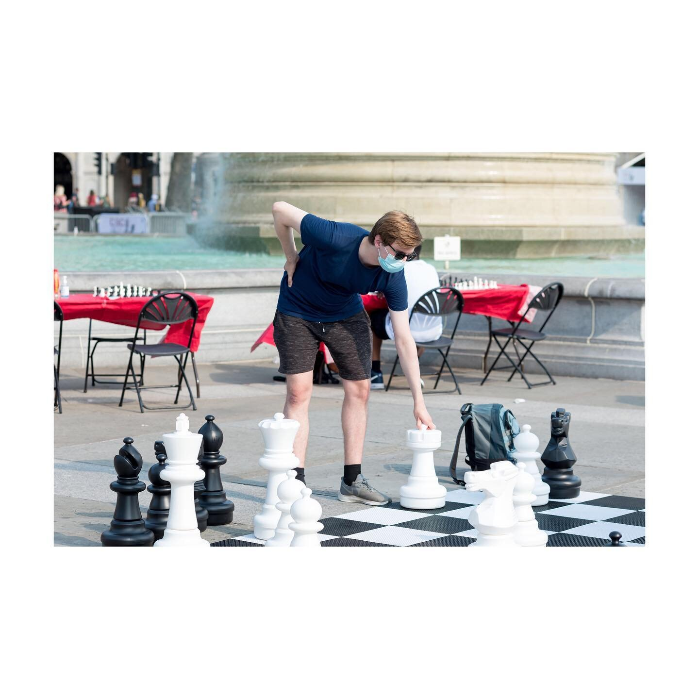 Photojournalism on @yahoonews   18th July at Trafalgar Square - @londonchessfest hosted by Chess in Schools and Communities and supported by @xtxmarkets. A man was seen taking a move on a life-sized chessboard.  #londonphotographer #londonphotography #londonphotojournalist #ukphotogtapher #ukphotojournalist #photojournalist #photojournalism #documentaryphotography #documentaryphotographer #documentingbritain #womenstreetphotographers #londoncameraproject #womenphotograph