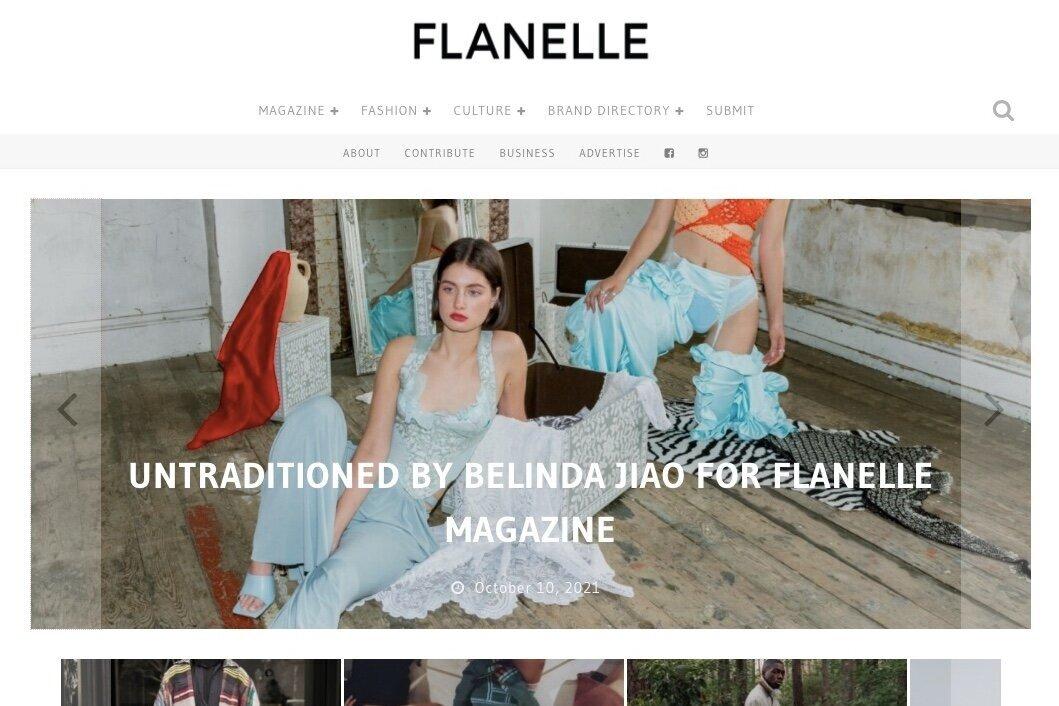 Flanelle Magazine/ Fashion