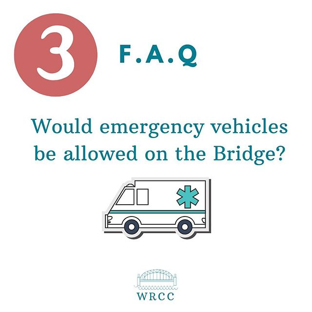 This FAQ is one of the most important points. Cutting down on response time for our emergency services is critical!