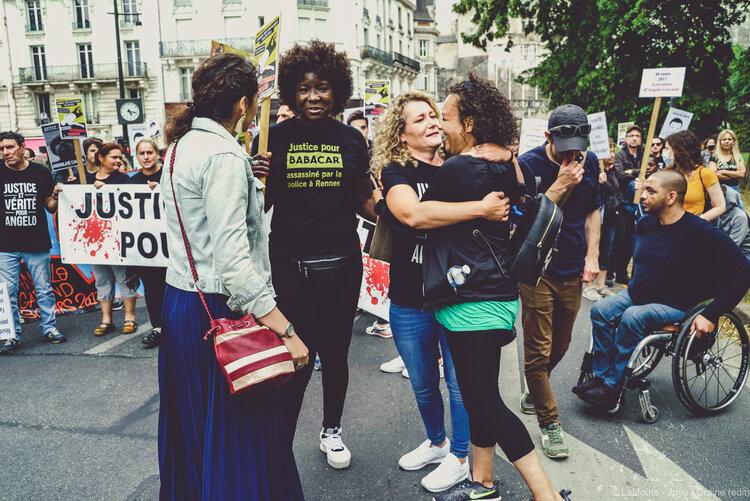 Anina Ciuciu, Awa Gueye, Aurélie Garand et Yamina D.  ©LaMeute - Jaya