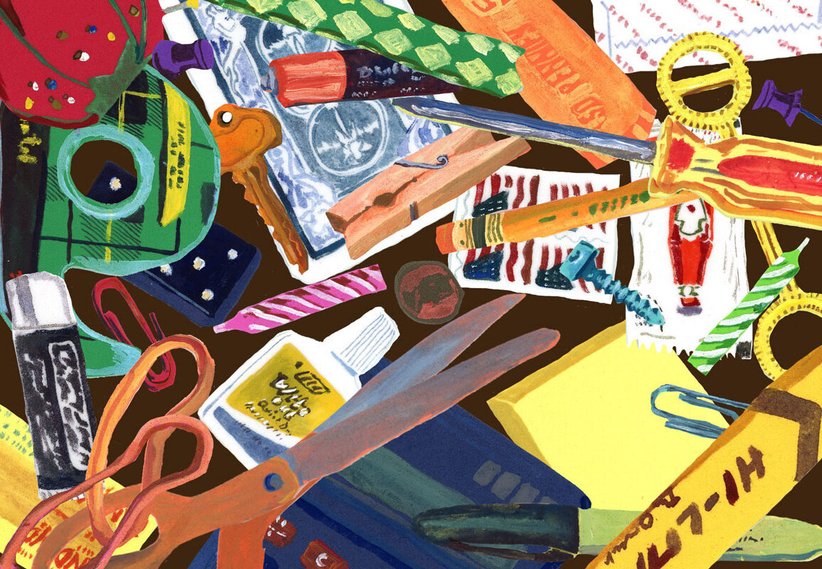 Junk Drawer - A site-specific animation for the Boston Convention and Exhibition Center