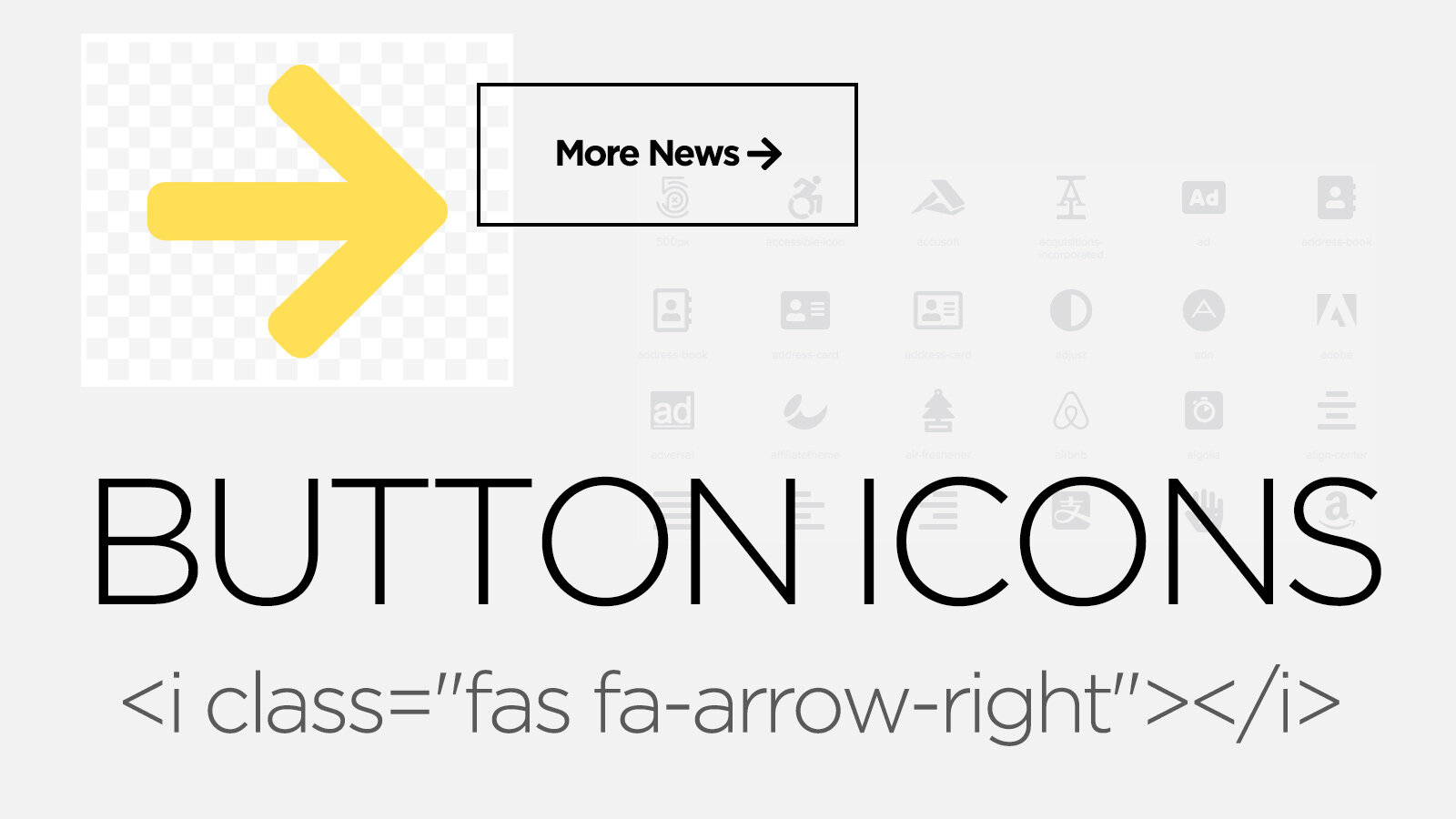font-awesome icons