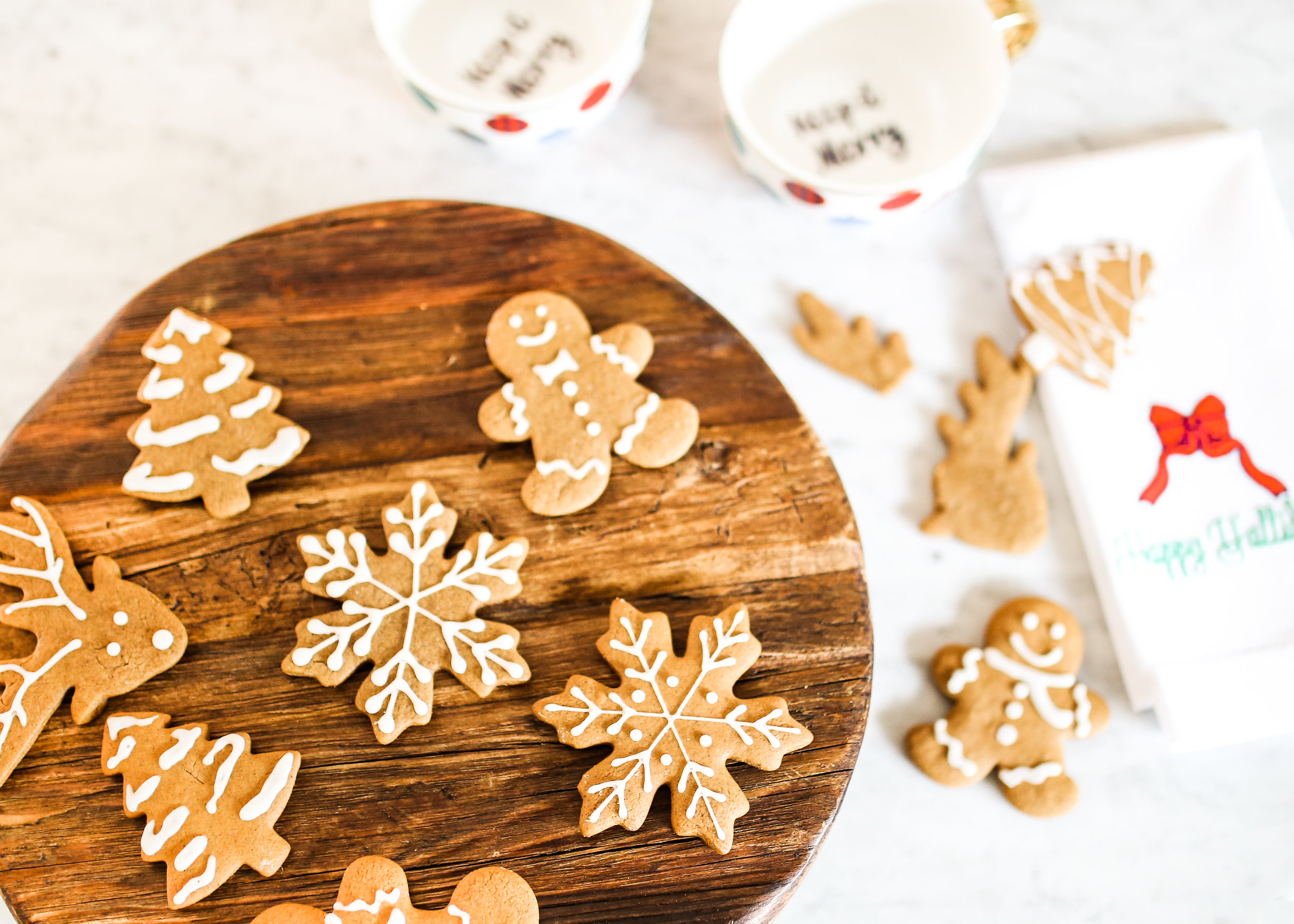 Soft And Chewy Gingerbread Cookies Elisabeth Butter