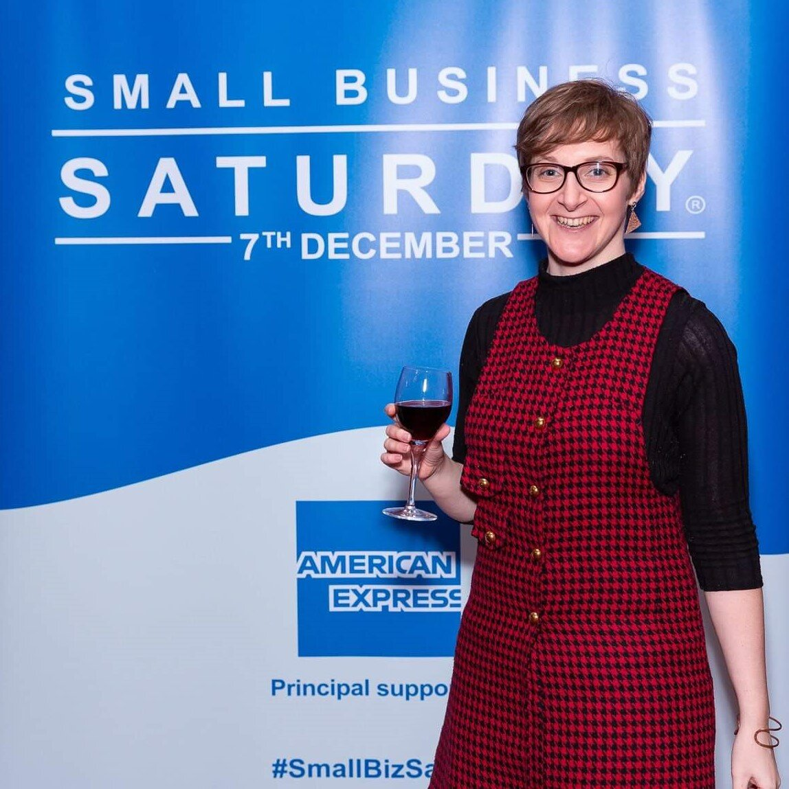 Nicola Bartlett from Eclectic Gift Shop attending the Small Business Saturday reception at the House of Lords.jpg