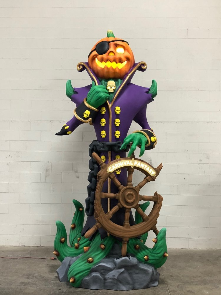 Carnival Cruises: Patch the Pumpkin Pirate