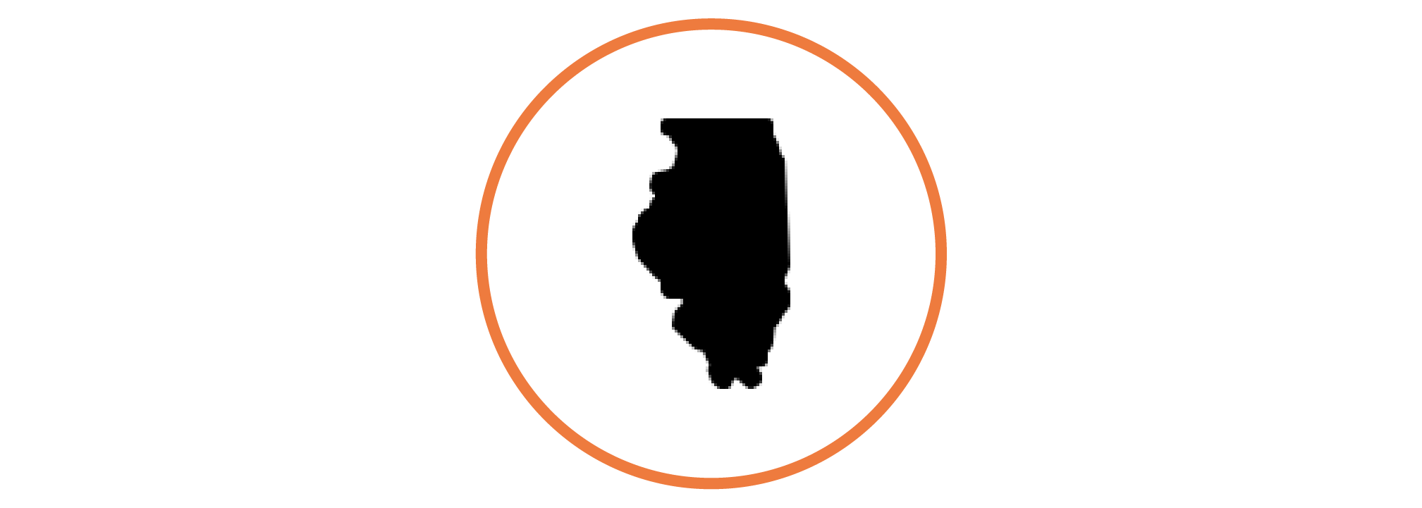 icon of the state of illinois