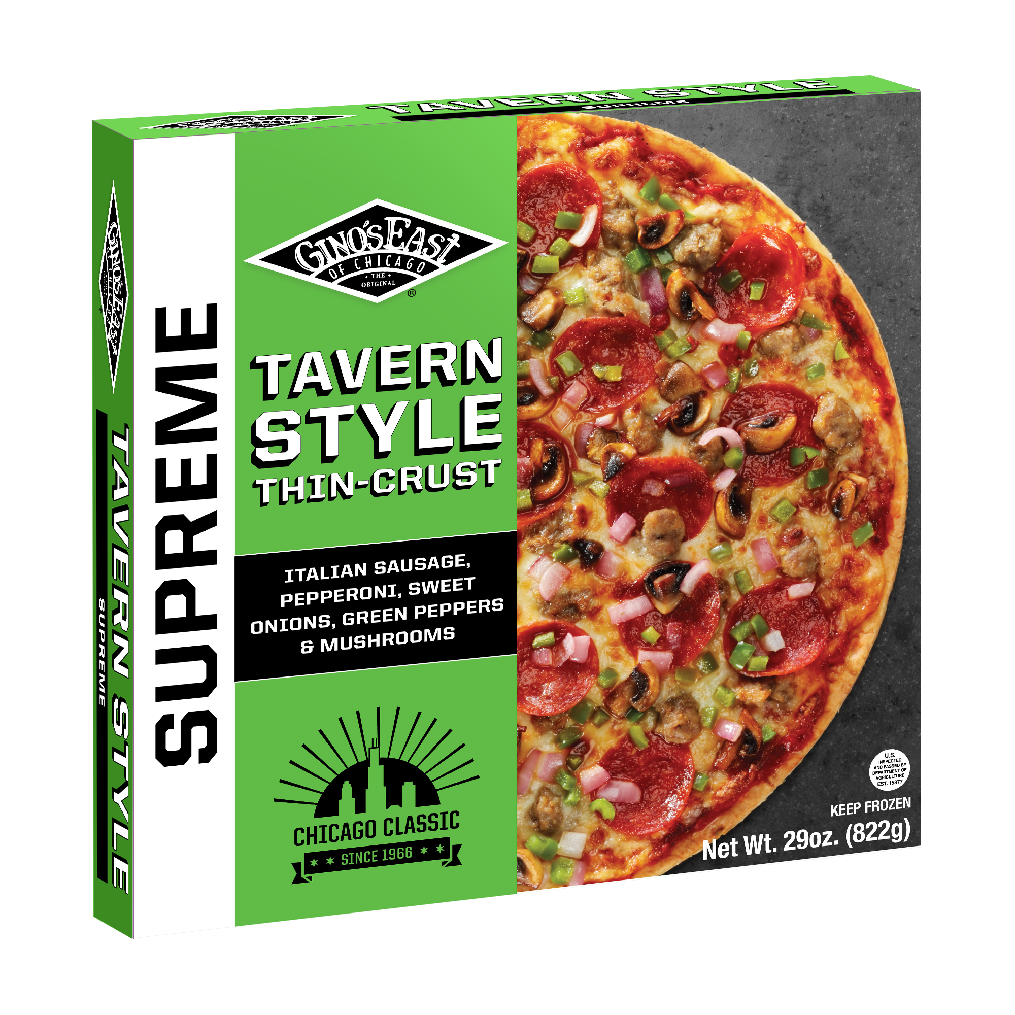 "SupremeTavernStyle.png how do you ship frozen pizza"",""frozen pizza questions"""