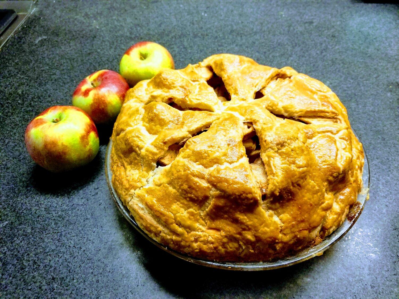 Apple Pie Porn no-fuss apple pie from stella parks' bravetart — novice kitchen