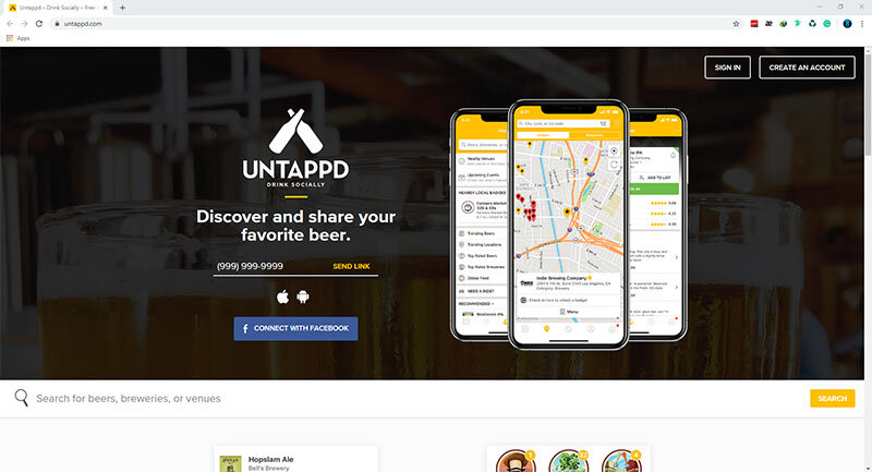 """If you're targeting people who are serious about beer, then it makes sense to be more visible on a platform that's centered on your product offering.</p>"