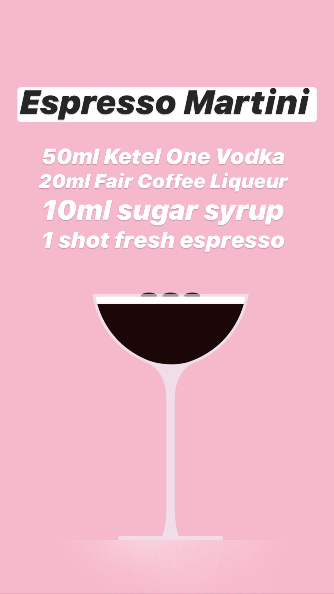 Espresso Martini Easy Cocktail Recipe Mother Mercy
