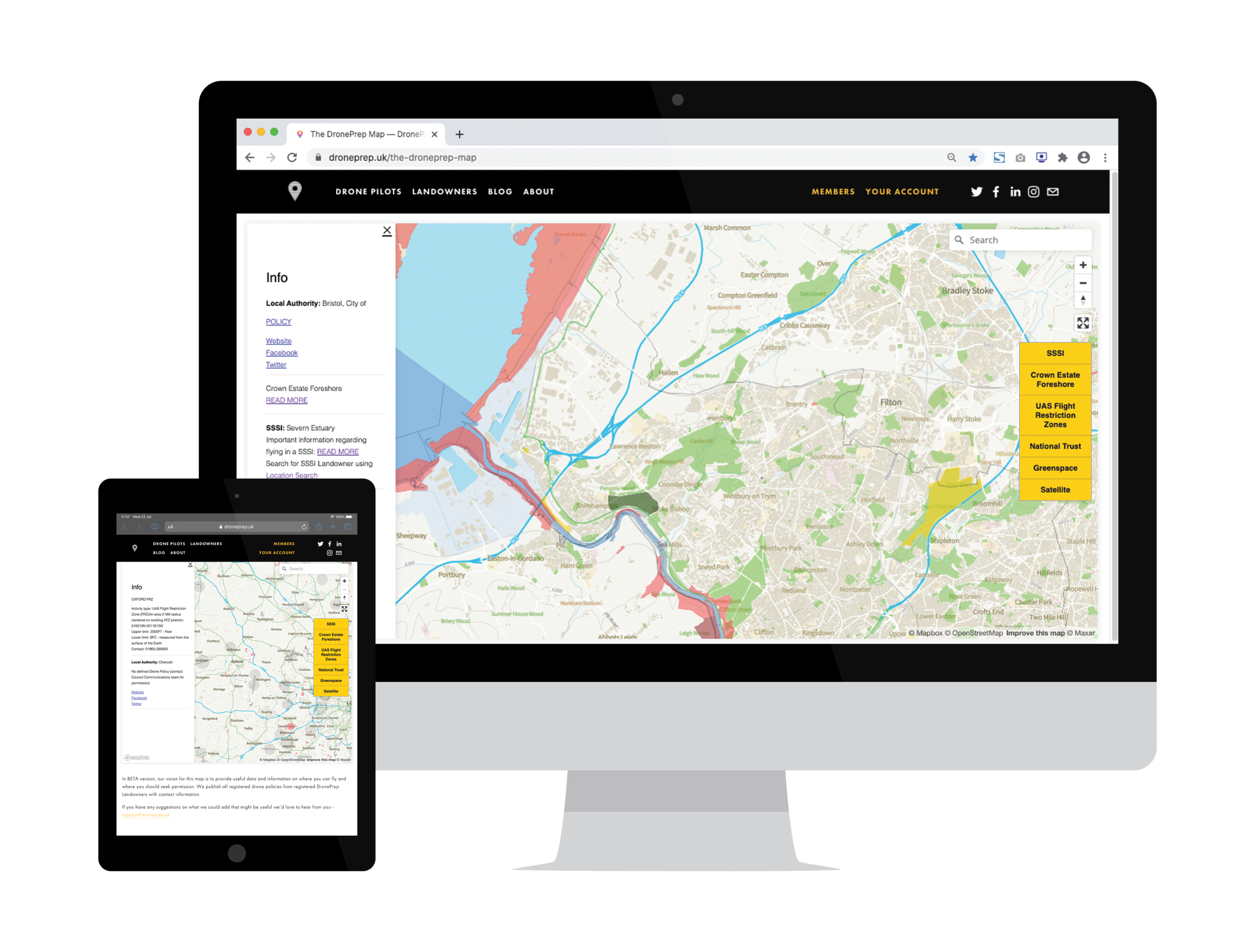 You can see SSSI locations on the DronePrep Map - REgister for free to see sssi's on the droneprep map