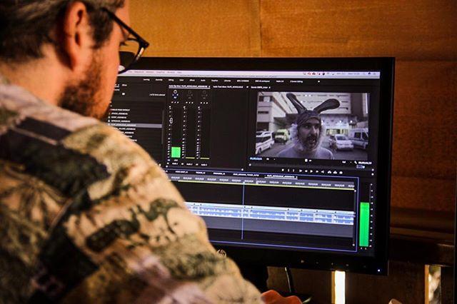 The edit flows and the movie grows. @mind_mending with @david_davey_dave_higgs . . . . #strokesurvivor #strokerecovery #documentary #mentalhealthawareness #stokenewington #musicfestival #aphasia #algarve #bunny