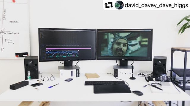 Last sprint before the finish line 🏃🏼♂️ . #strokerecovery #strokeawareness #🐰 . #repost @david_davey_dave_higgs ・・・ Excited to be up and running in the new studio and wrapping up the edit of a new documentary #documentary #filmmaking #movies #editing