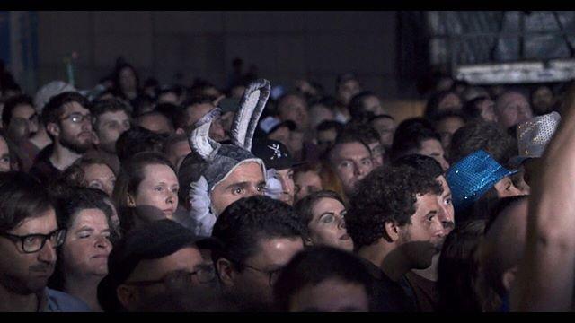 Spot the bunny! Filipe at the Tremor festival. . . . . . @filipefale #bunnysuit #documentary #campaign #strokeawareness #strokeawarenessmonth #strokesurvivor #moviestill #mentalhealthawareness