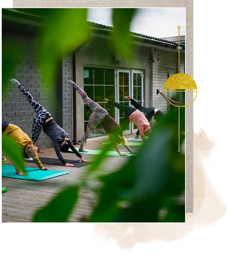 Group Yoga Classes Be Well By Alana Kessler