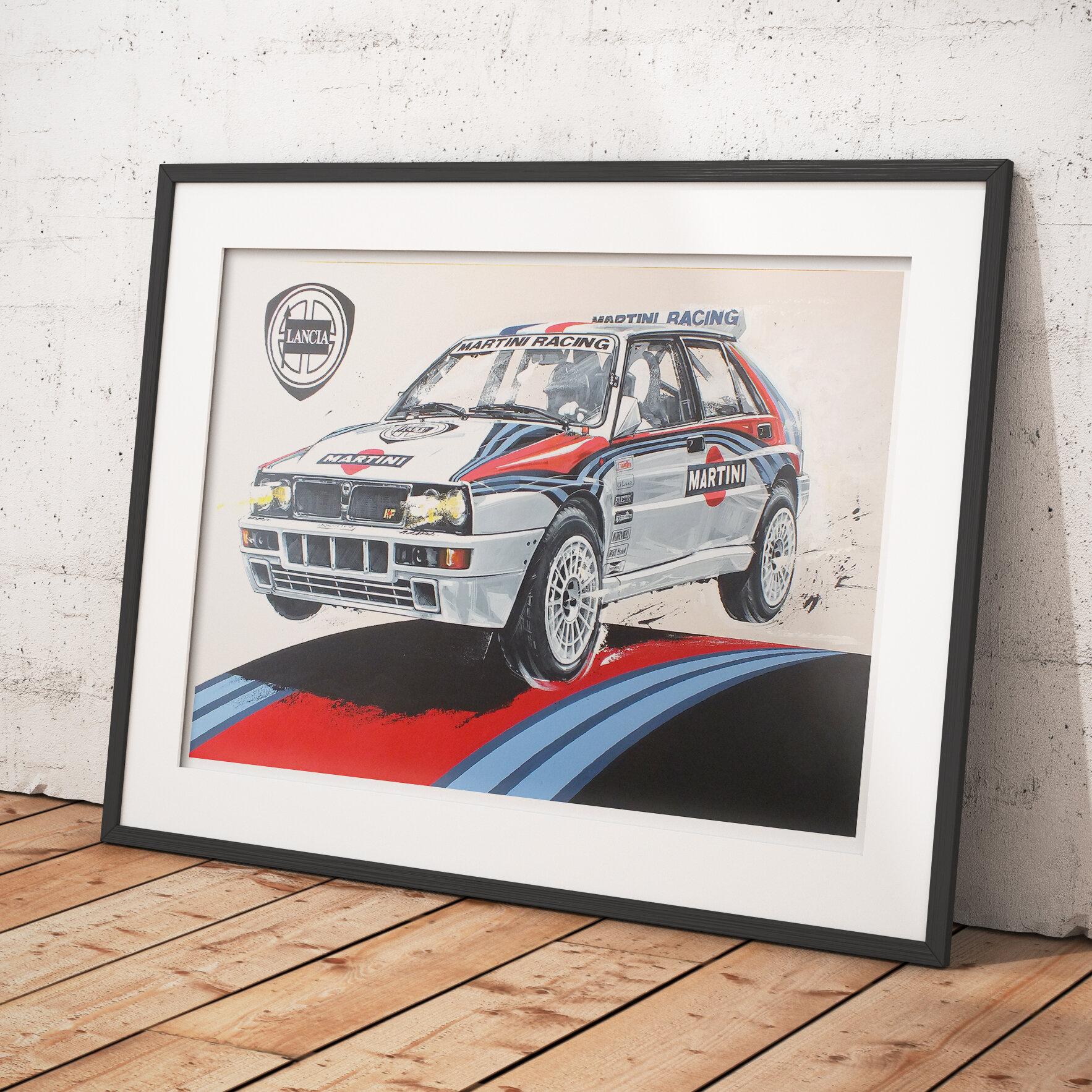 Audi Quattro Rally Car Lazenby Visuals