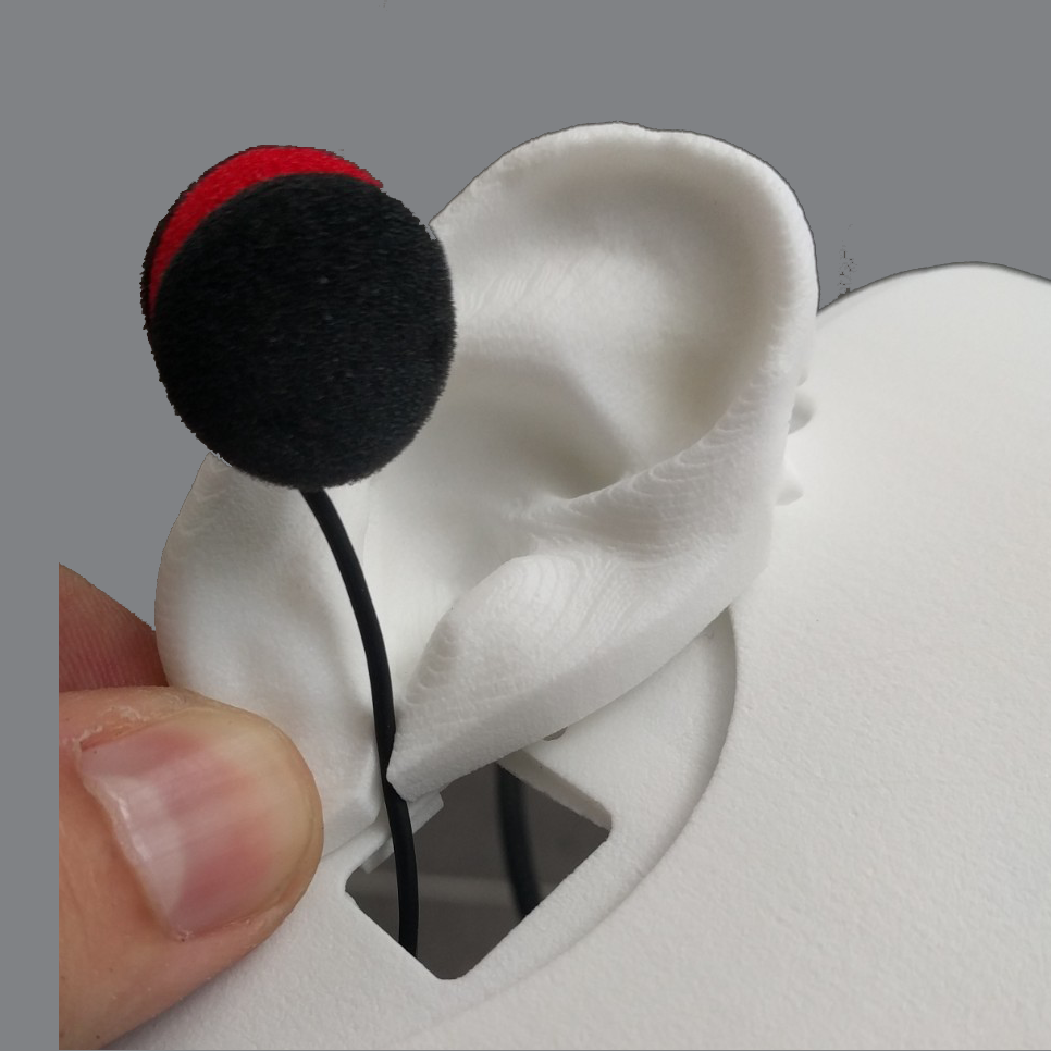 Professional Stereo Sound Capture System  Two microphones (one in each ear), allow for precise Stereo sound capture directly to your computer.