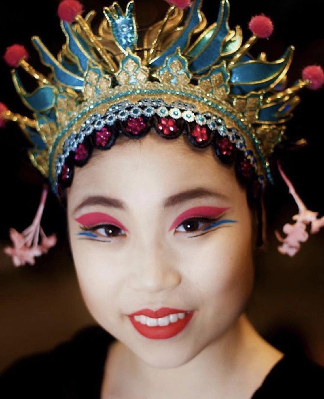 Make-up designs from Atlanta Ballet's Chinese variation