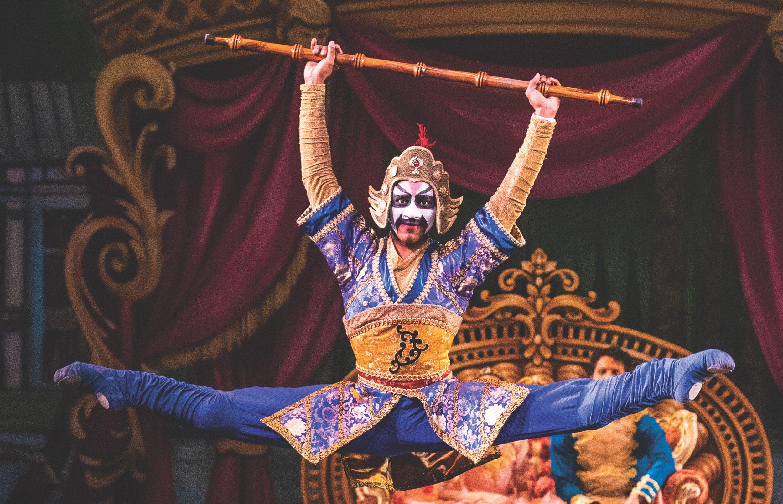 Peking Opera-inspired Chinese from Ballet West's Nutcracker