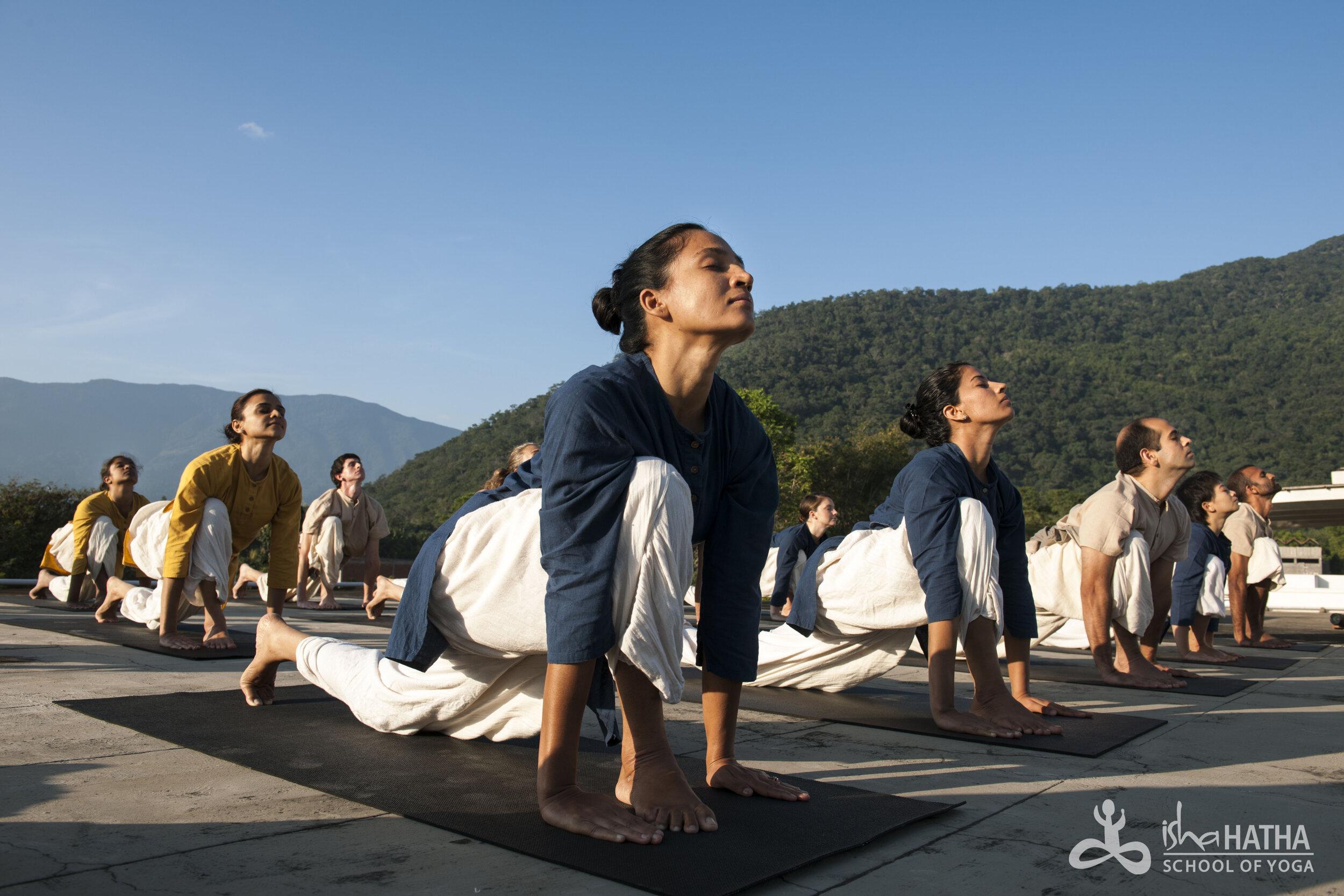 Surya Kriya Isha Hatha Yoga Hanahatha Yoga
