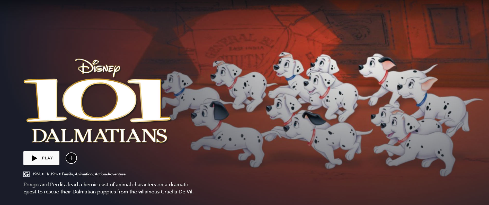 Review Disney S 101 Dalmatians 1961 Disnerd Movie Challenge
