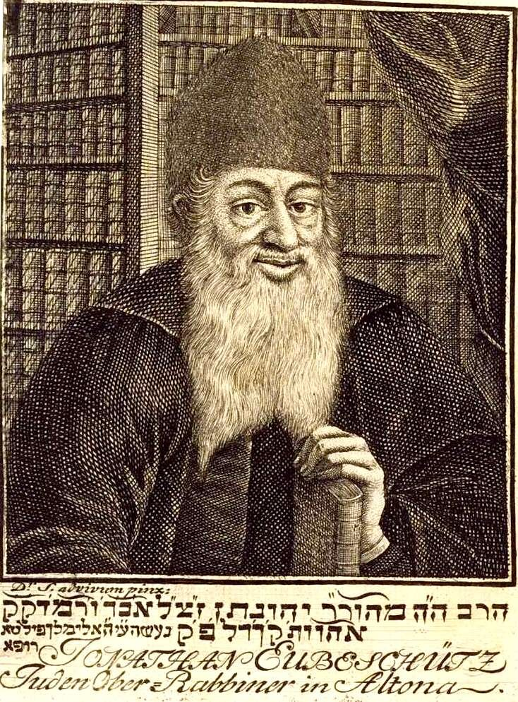Rabbi Eybeshütz (1690 – 1764).