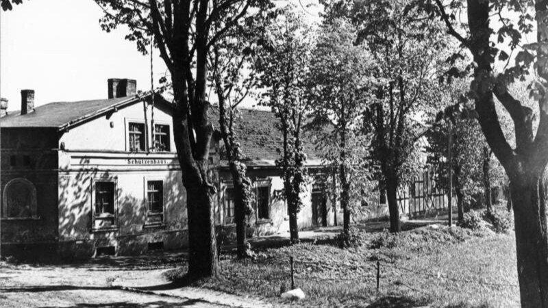The Schützenhaus in Pasewalk where Hitler was treated.