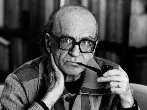 Mircea Eliade, former member of the Ur Group with Julius Evola