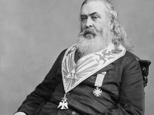 Albert Pike, Grand Master of Scottish Rite Freemasonry