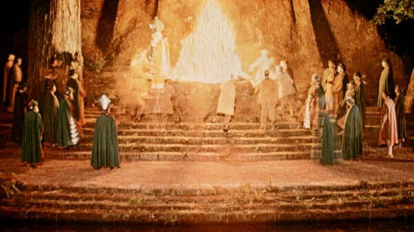 """""""Cremation of Care"""" at Bohemian Grove"""