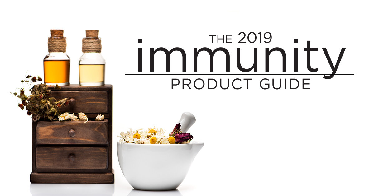 """""""Support a healthy immune system"""" - - Taste for Life Magazine October 2019"""