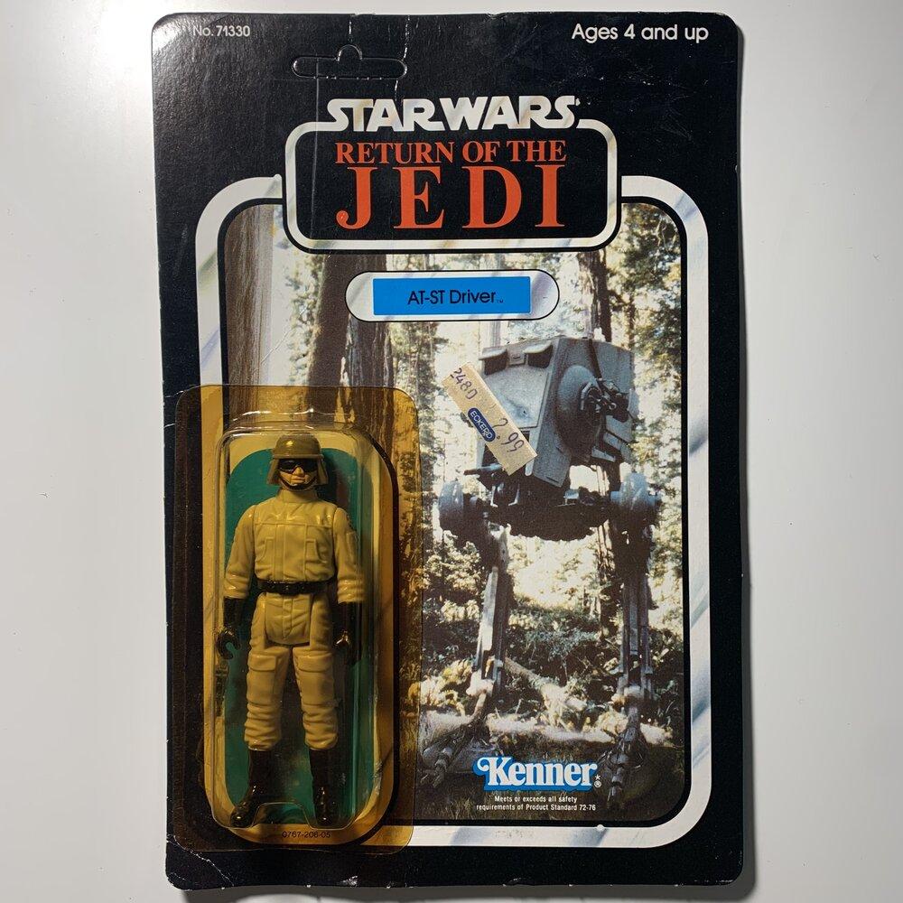 1983 AT-ST Driver Star Wars Figure  Return of the Jedi  L.F.L 1984