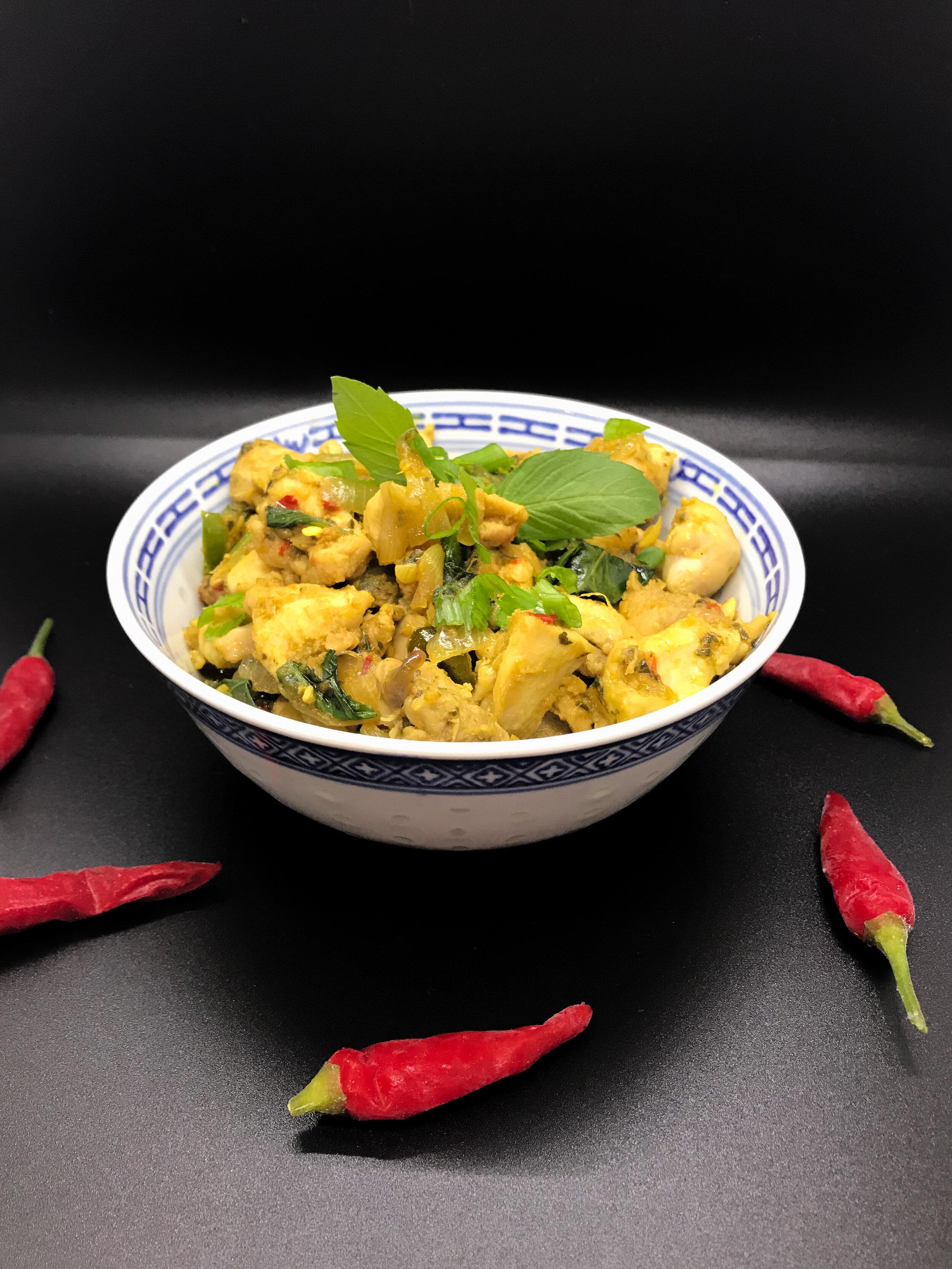 Cha Kroeung Sach Moan Cambodian Lemongrass Chicken Stir Fry Wai Lifestyle
