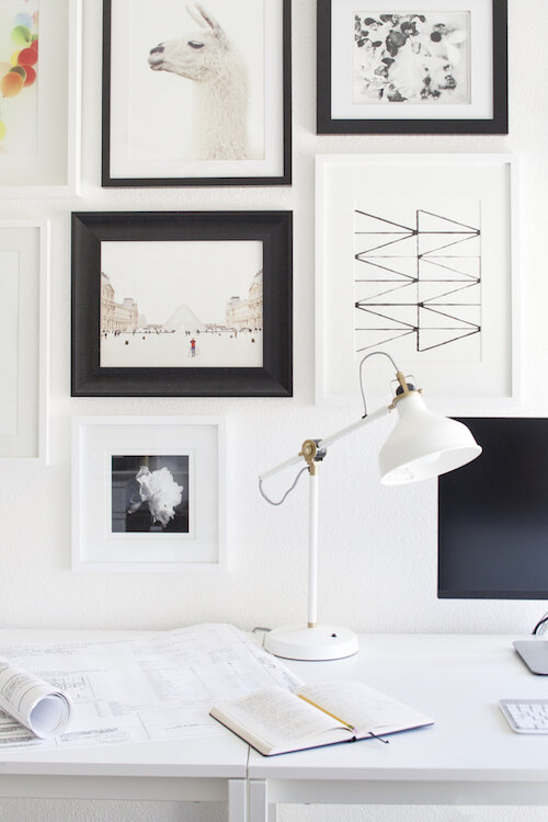 How To Set Up A Great Work From Home Space Eggshell Home San Francisco Bay Area Interior Designer
