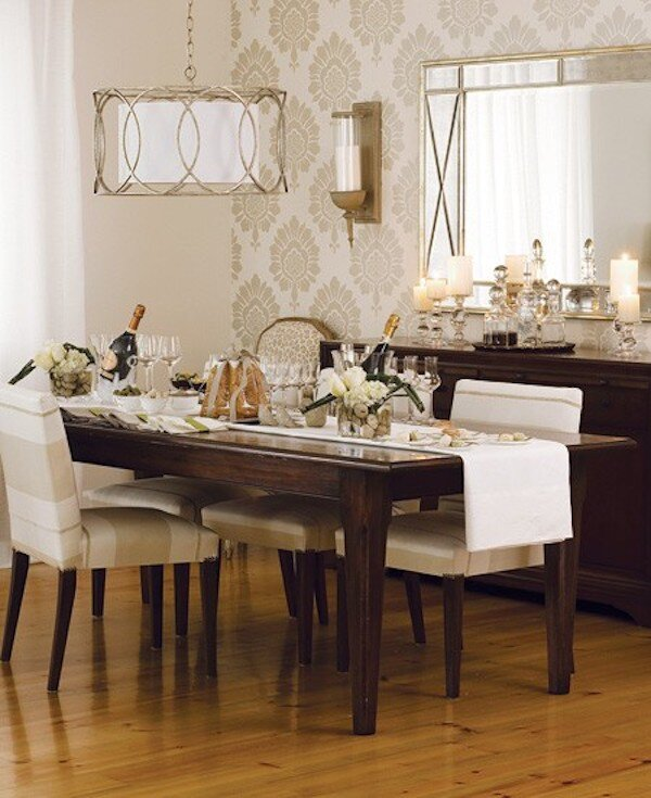 Modern Candle Wall Sconces Roundup, Dining Room Sconces